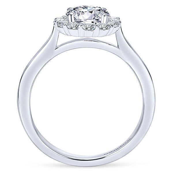 Gabriel & Co ER7498 Althea 0.42ct. 6.5mm.