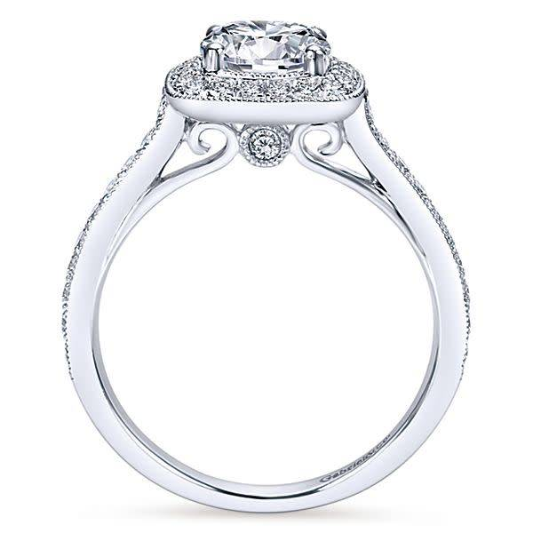 Gabriel & Co ER7525 Harper 0.45ct. 6.5mm.