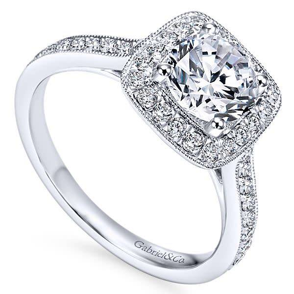 Gabriel & Co ER7525 Harper 0.48ct. 6.5mm.
