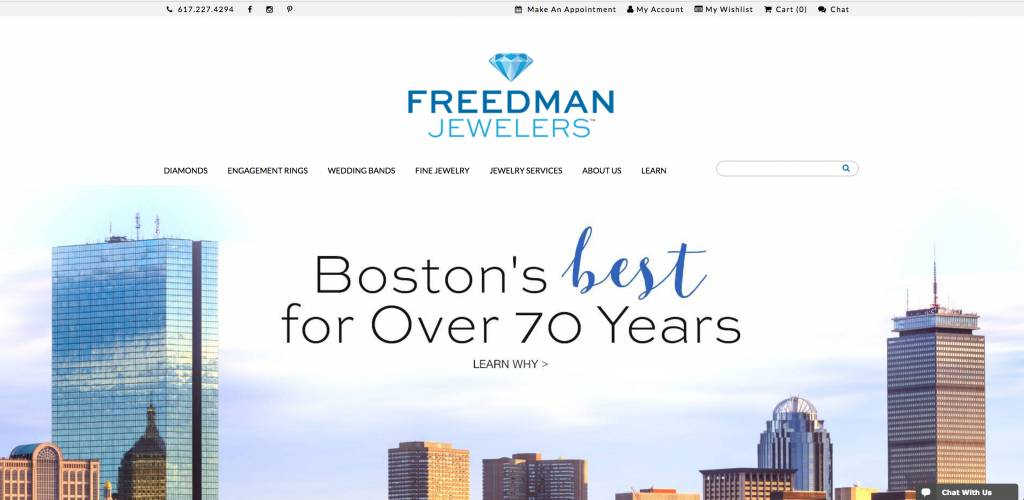 Introducing...The New Freedman Website!