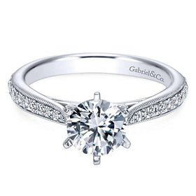Sawyer engagement ring setting