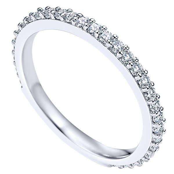 Gabriel & Co LR4576 0.45 ct tw diamonds