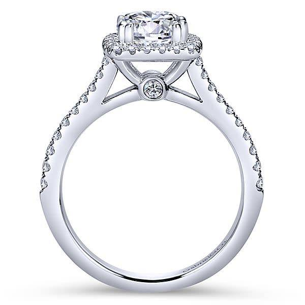 Gabriel & Co ER8152 Michaela 0.39 ct tw 6.5mm