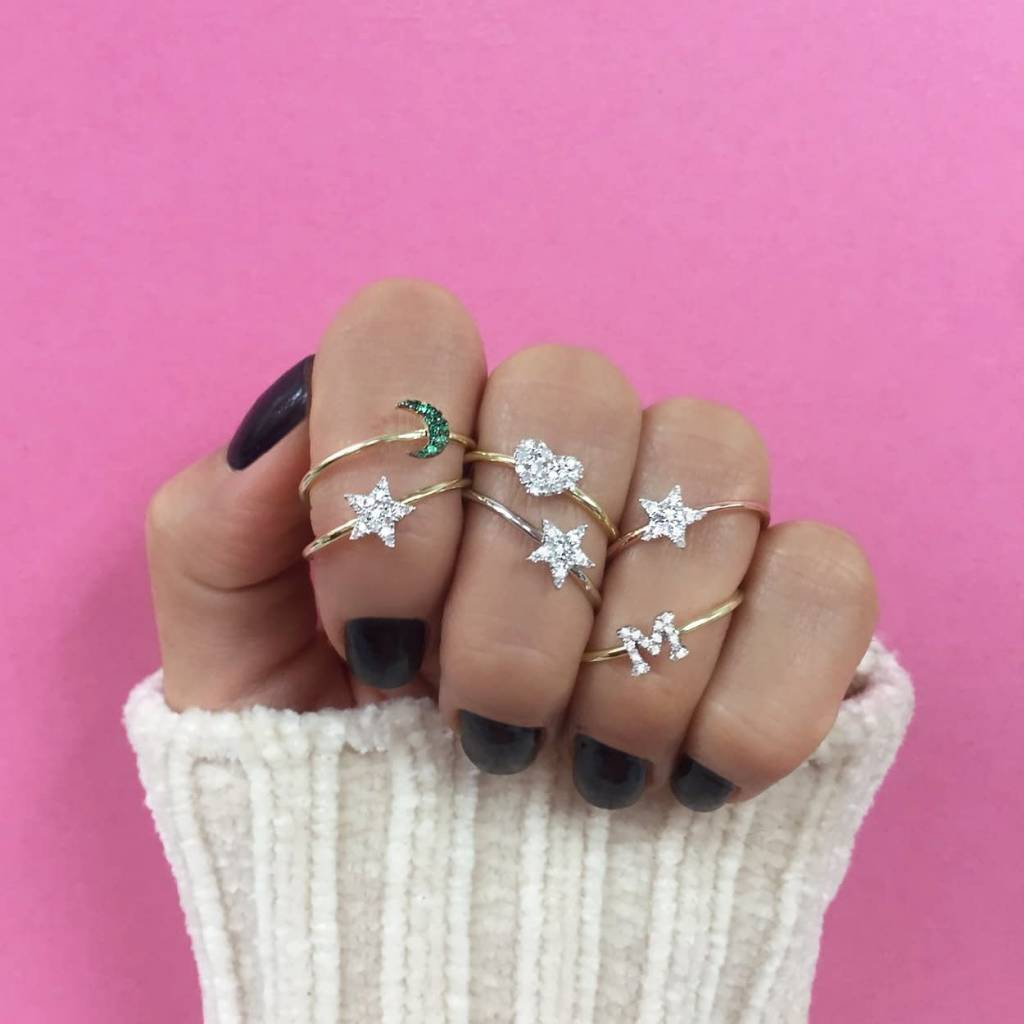 Meira T Essential Diamond Star Ring