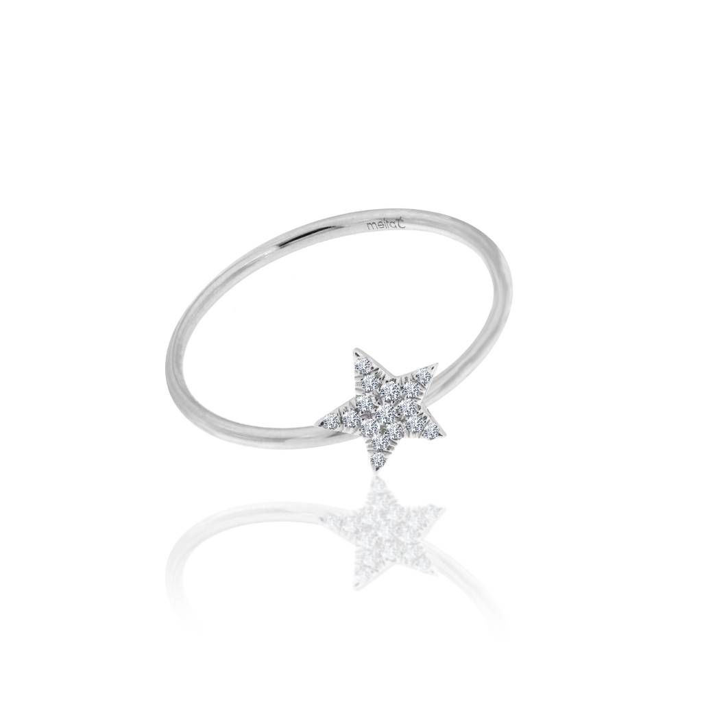 Essential Diamond Star Ring