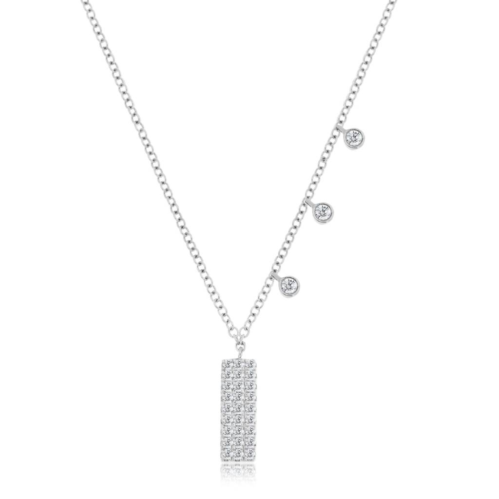 Meira T Essential Long Bar Necklace