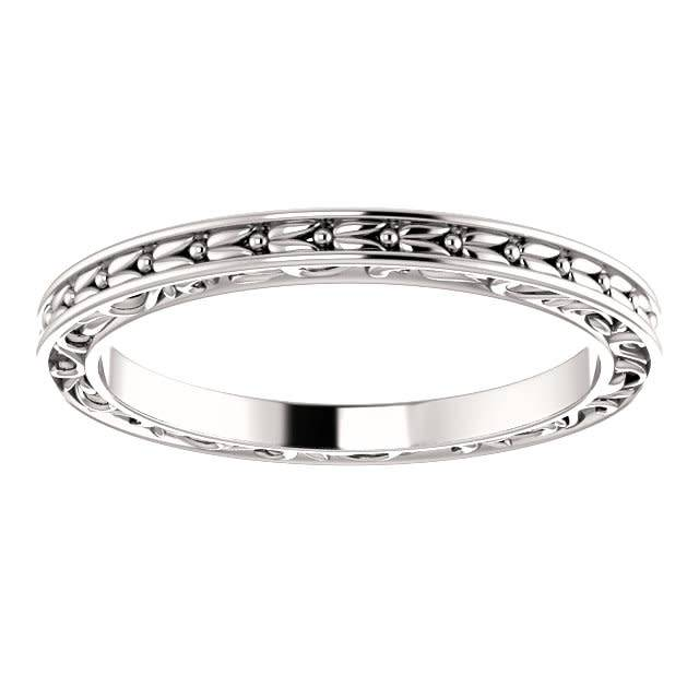 Stuller 51881 Leaf Sculptured Band