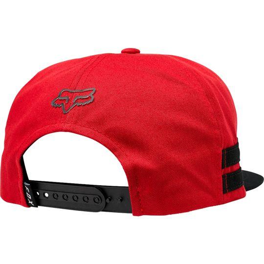 Fox Head Flash Snapback Hat