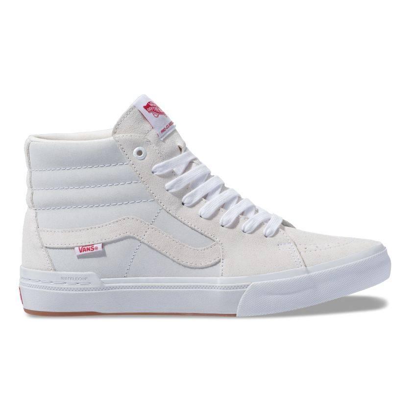 Vans Sk8-Hi Pro BMX Shoe - (Scotty Cranmer) White