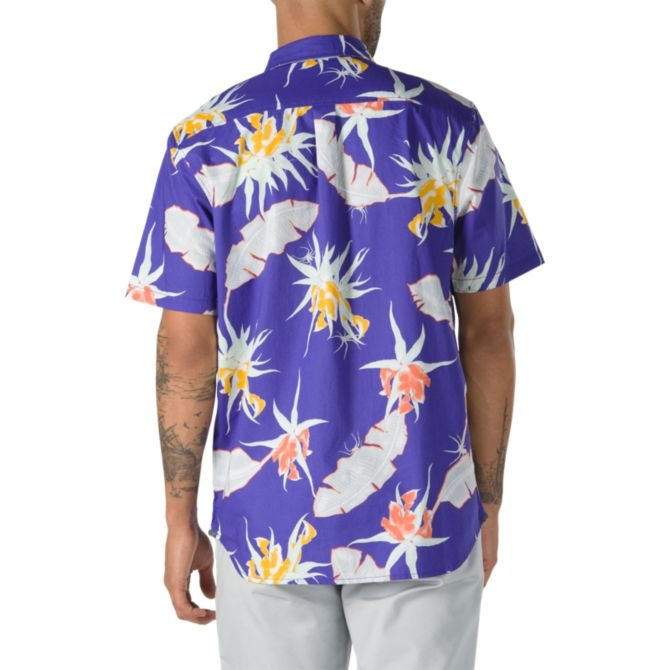 Vans Arachnofloria SS Buttondown Shirt