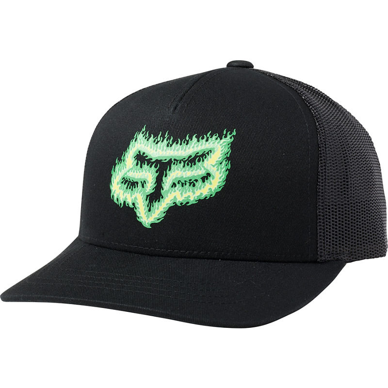 Fox Head Youth Flame Head Snapback Hat