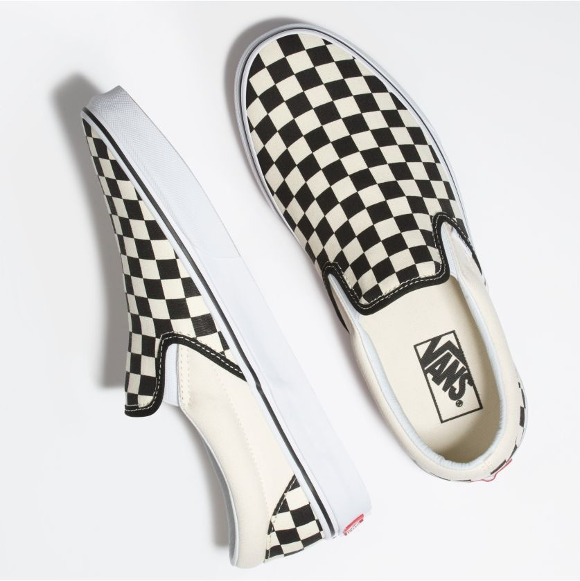 Vans Checkerboard Slip-On Shoe