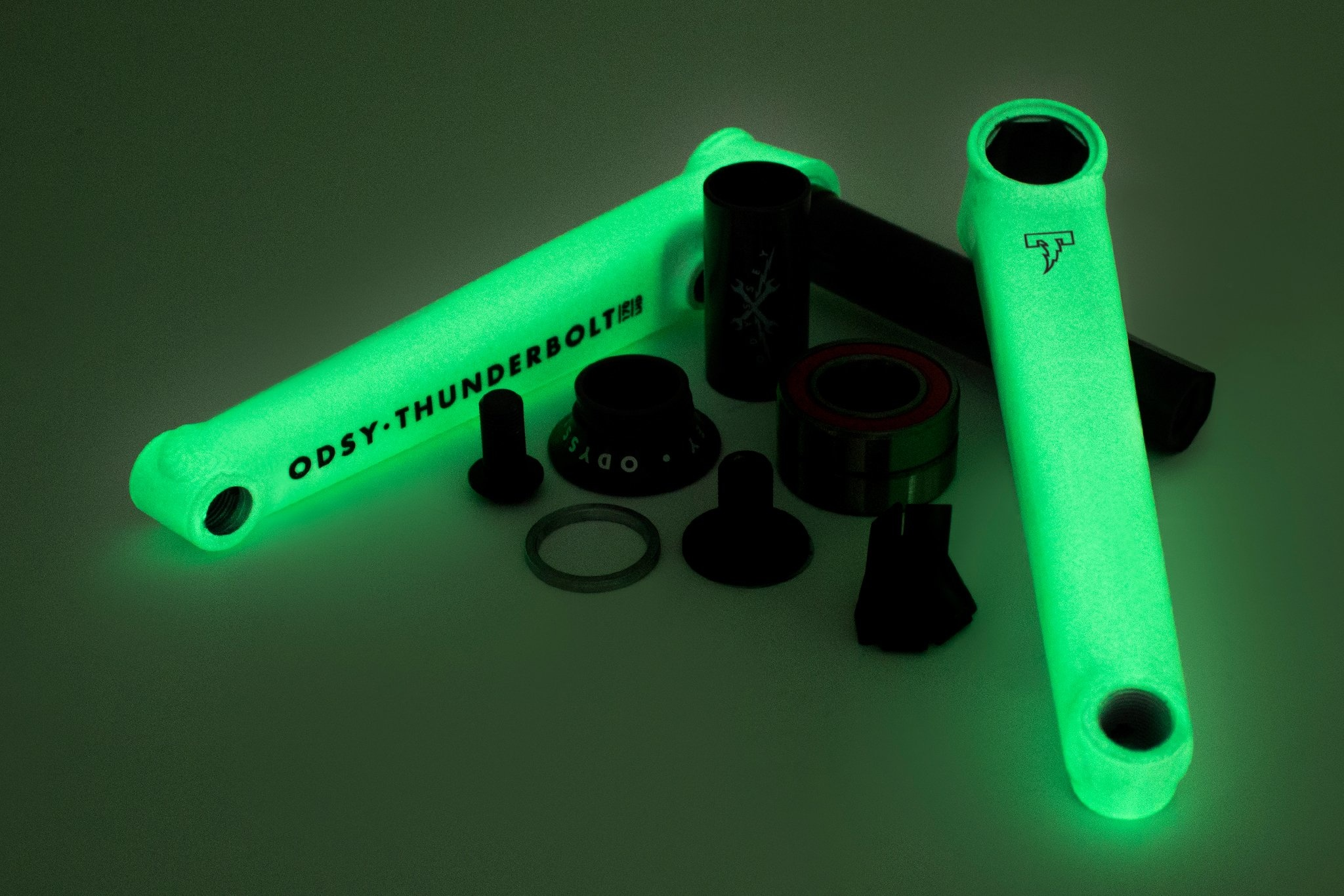 Odyssey Thunderbolt+ Limited Edition Glow in The Dark Cranks