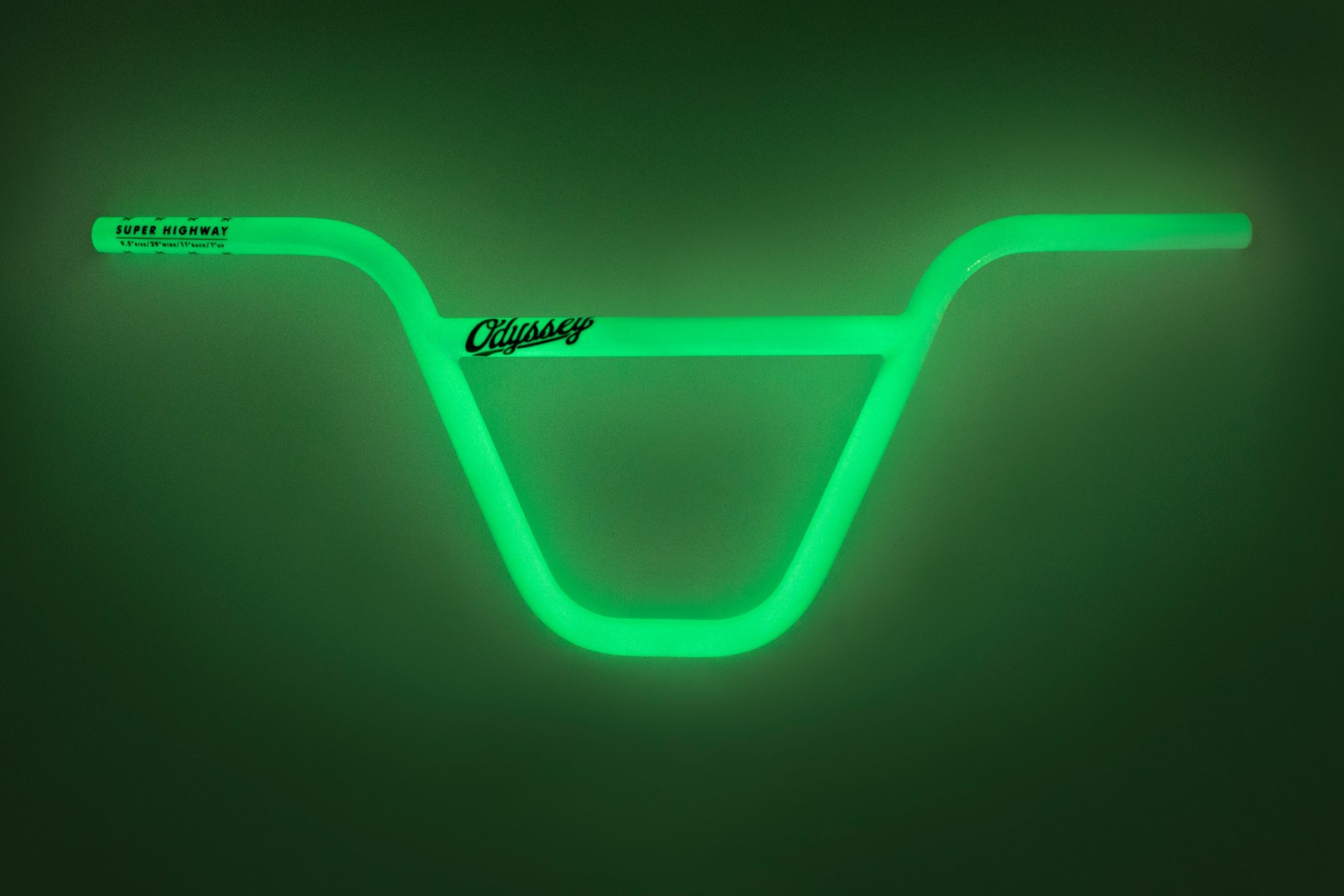 Odyssey Super Highway Limited Edition Glow In The Dark Handlebar
