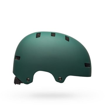 Bell Local Helmet - Skull Matte Green/Black