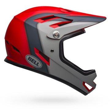 Bell Sanction Helmet - Presence Matte Crimson/Slate/Gray
