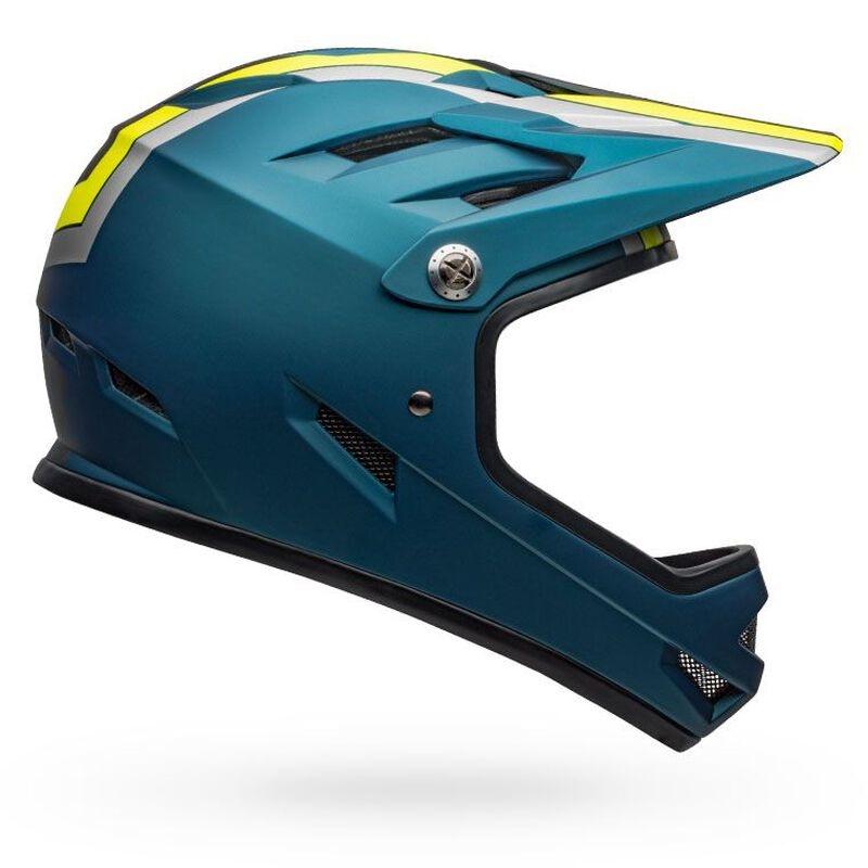 Bell Sanction Helmet - Agility Matte Blue/Hi-Viz
