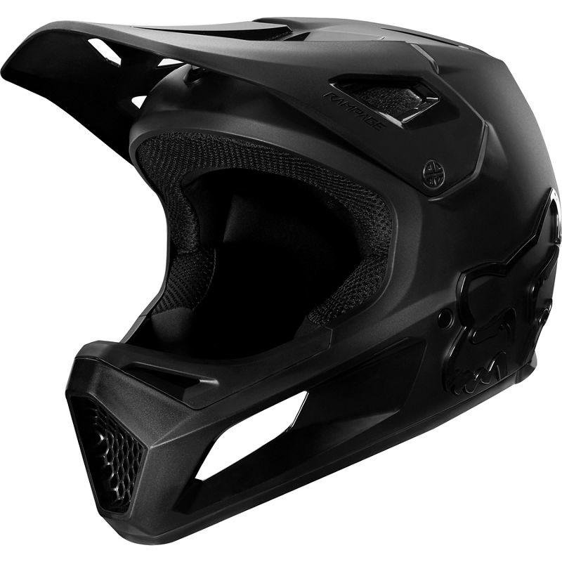 Fox Head Rampage Helmet - Black/Black