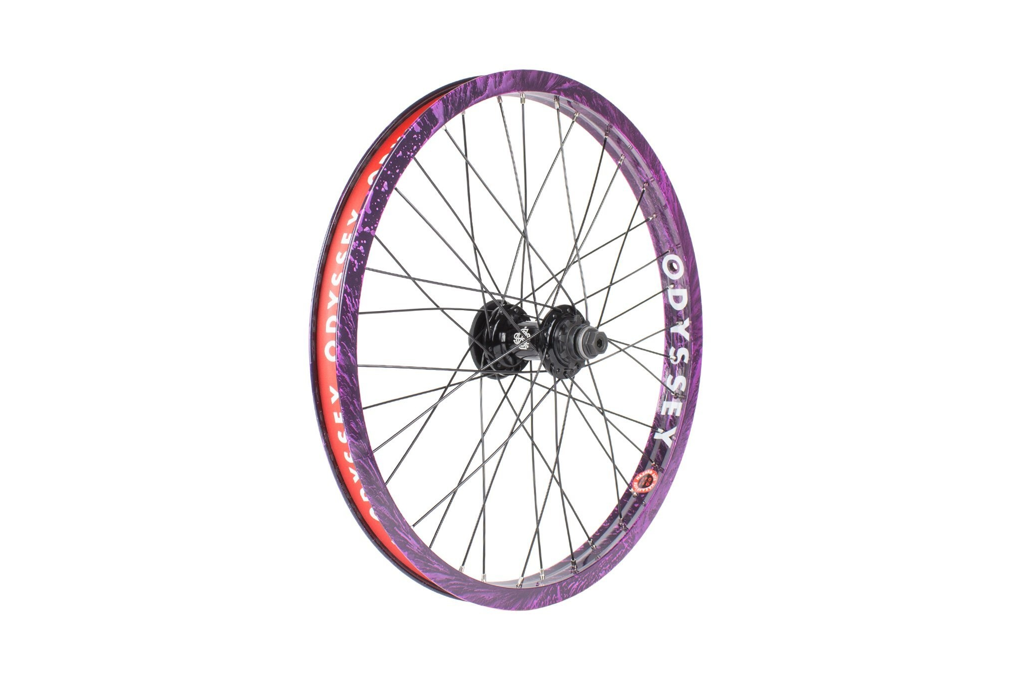 Odyssey Hazard Lite Cassette Wheel Limited Edition Purple Rain