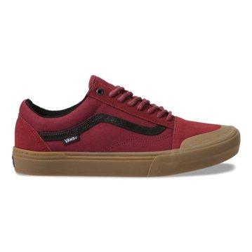 Vans Old Skool Pro BMX Shoe - (Ty Morrow) Biking Red/Gum