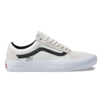 Vans Old Skool Pro Shoe - (Ballistic) Marshmallow/Black