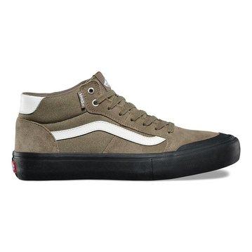 Vans Style 112 Mid Pro Shoe - Dusky Green/Black/Antique
