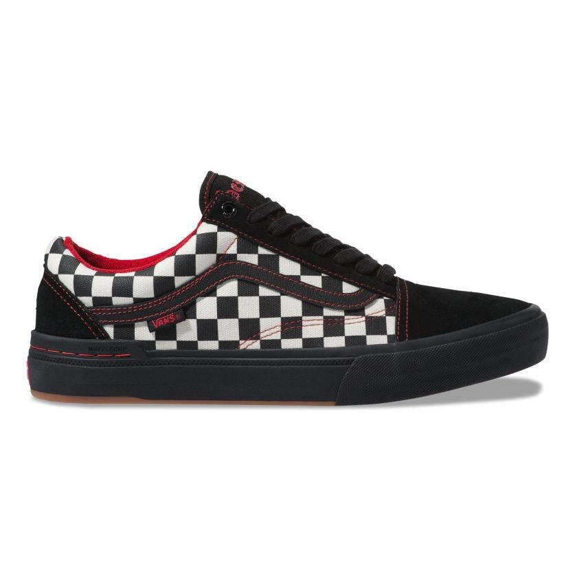 Vans Old Skool Pro BMX Shoe - (Kevin Peraza) Black/Checkerboard