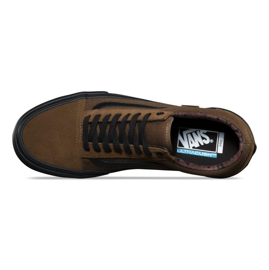 Vans Old Skool Pro Shoe - (Dakota Roche) Teak/Black