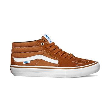 Vans SK8-Mid Pro Shoe - Glazed Ginger