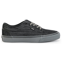 Vans Chukka Low Shoe - (Denim) Black/Pewter