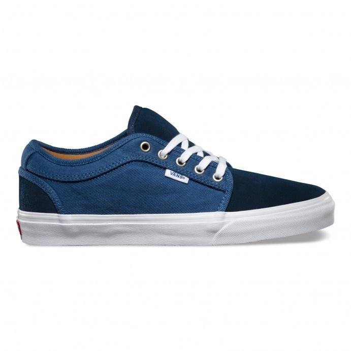 Vans Chukka Low Shoe - (Two-Tone) Blue/White