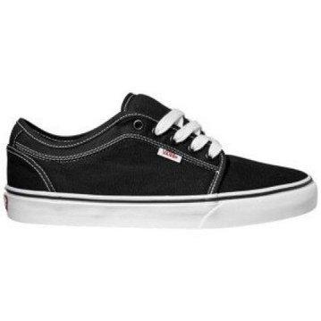 Vans Chukka Low Shoe - Black/White