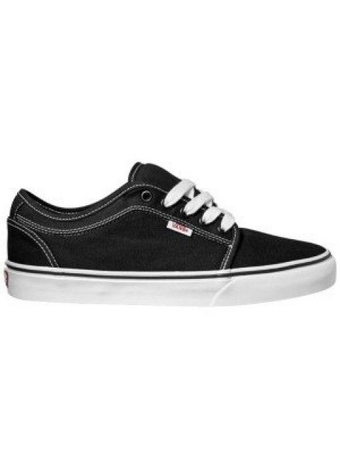 Vans Chukka Low Shoe - Black/White