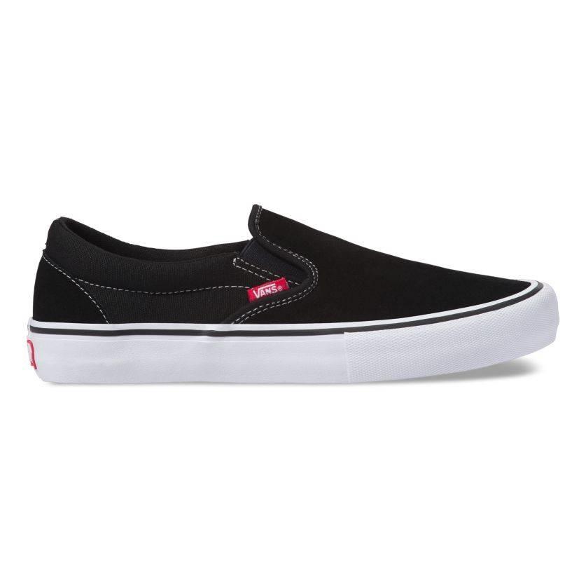 Vans Slip-On Pro Shoe - Black/White/Gum