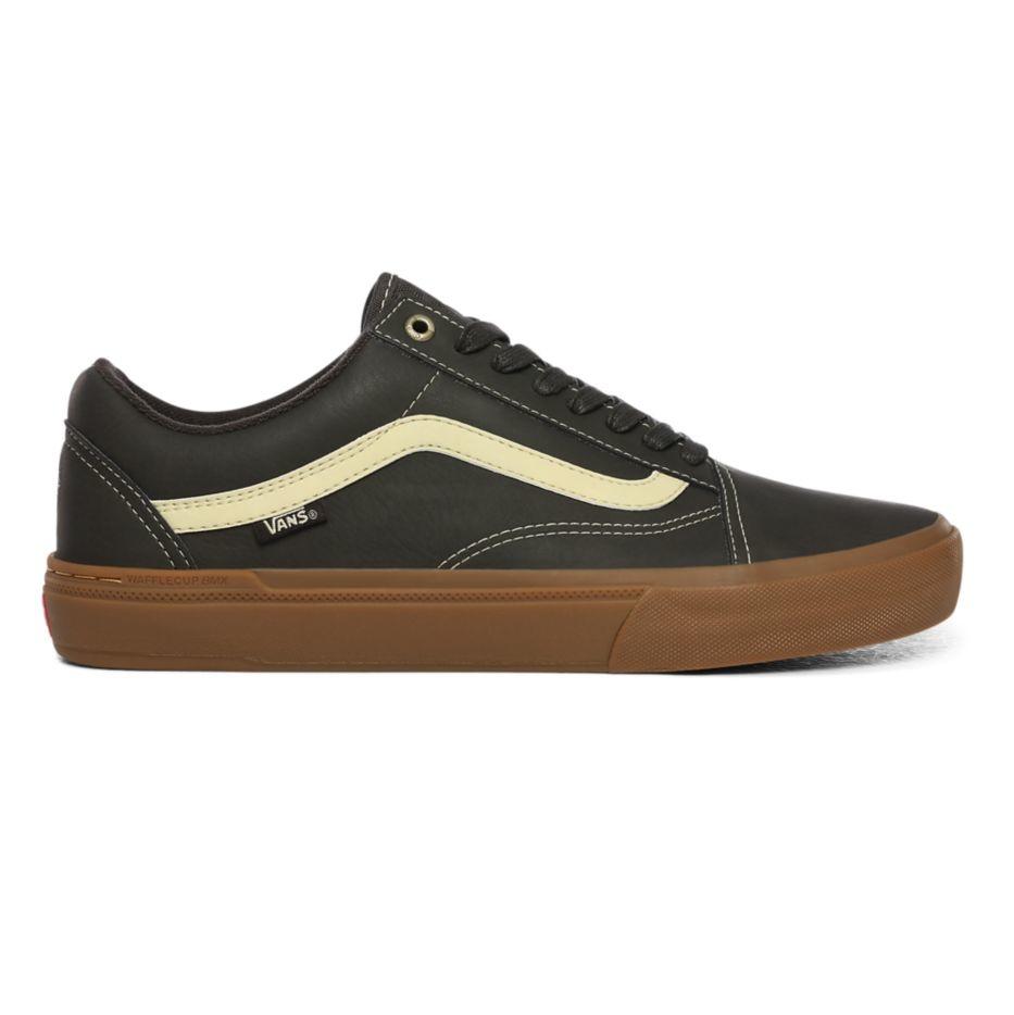 Vans Old Skool Pro BMX Shoe - (Dennis Enarson) Olive/Gum
