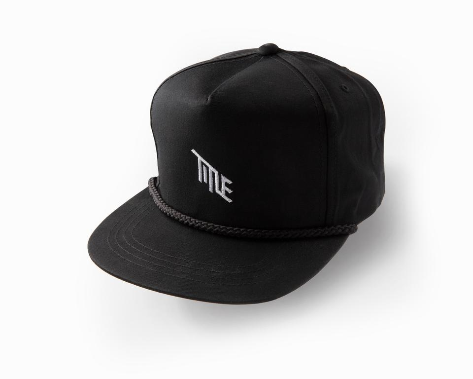Title Poplin Golf Snap Back Hat