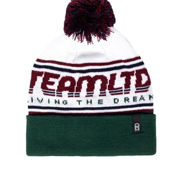 Team LTD Jacquard Pom Toque