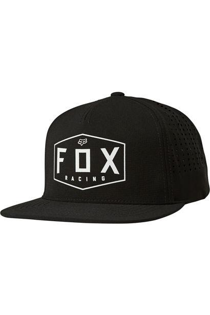Fox Head Crest Snapback Hat
