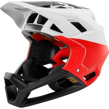 Fox Head Proframe Helmet - White/Black/Red