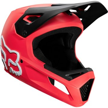 Fox Head Youth Rampage Helmet - Bright Red