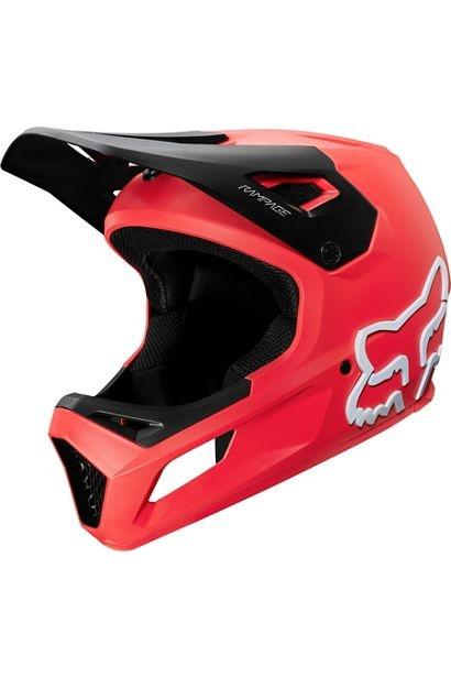 Fox Head Youth Rampage Helmet - Bright Red