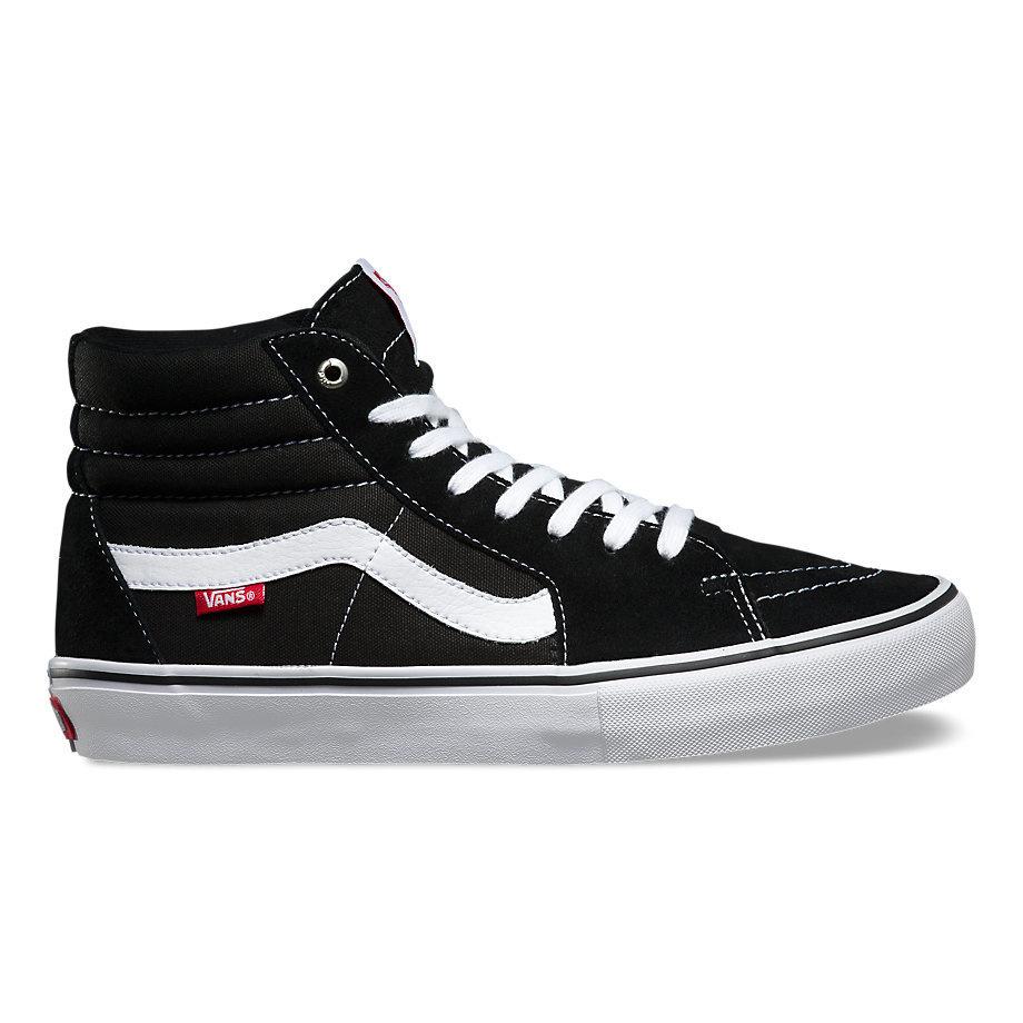 Vans SK8-Hi Pro Shoe - Black/White