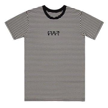 Cult Stripe Logo Tee