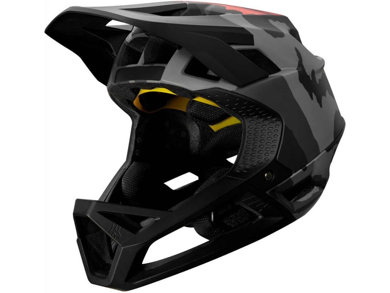 Fox Head Proframe Helmet - Black Camo