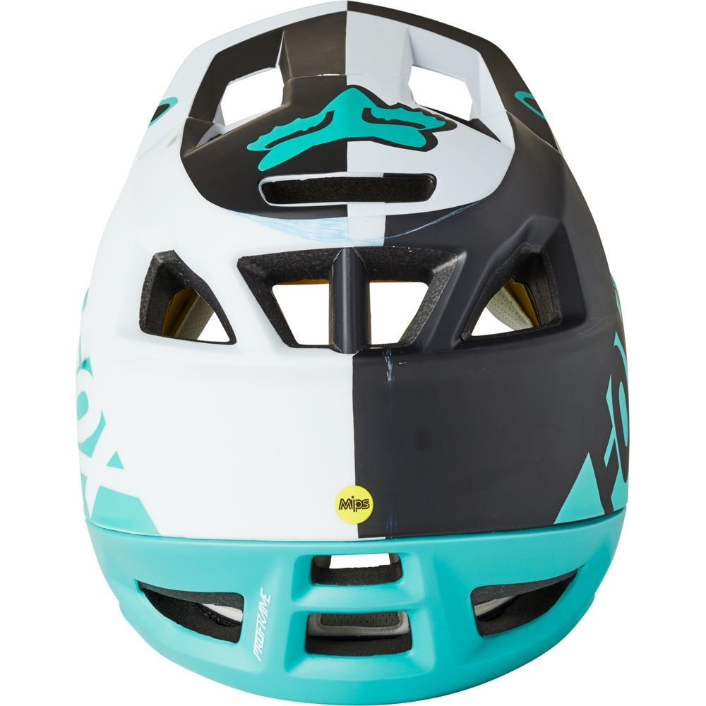 Fox Head Proframe Blocked Helmet - Teal