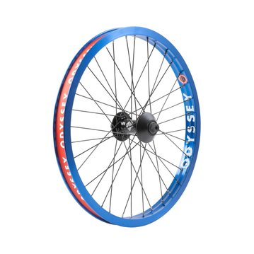 Odyssey Hazard Lite Front Wheel - Limited Edition Anodized Blue