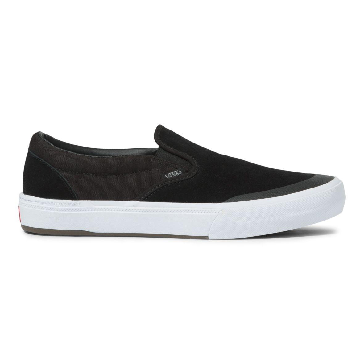 Vans BMX Slip On Shoe - Black/Gray/White