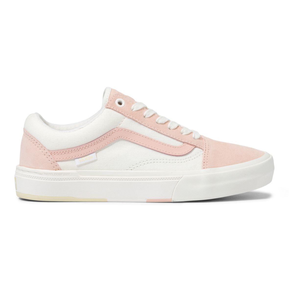 Vans Old Skool Pro BMX Shoe - (Angie Marino) Peach/Marshmallow