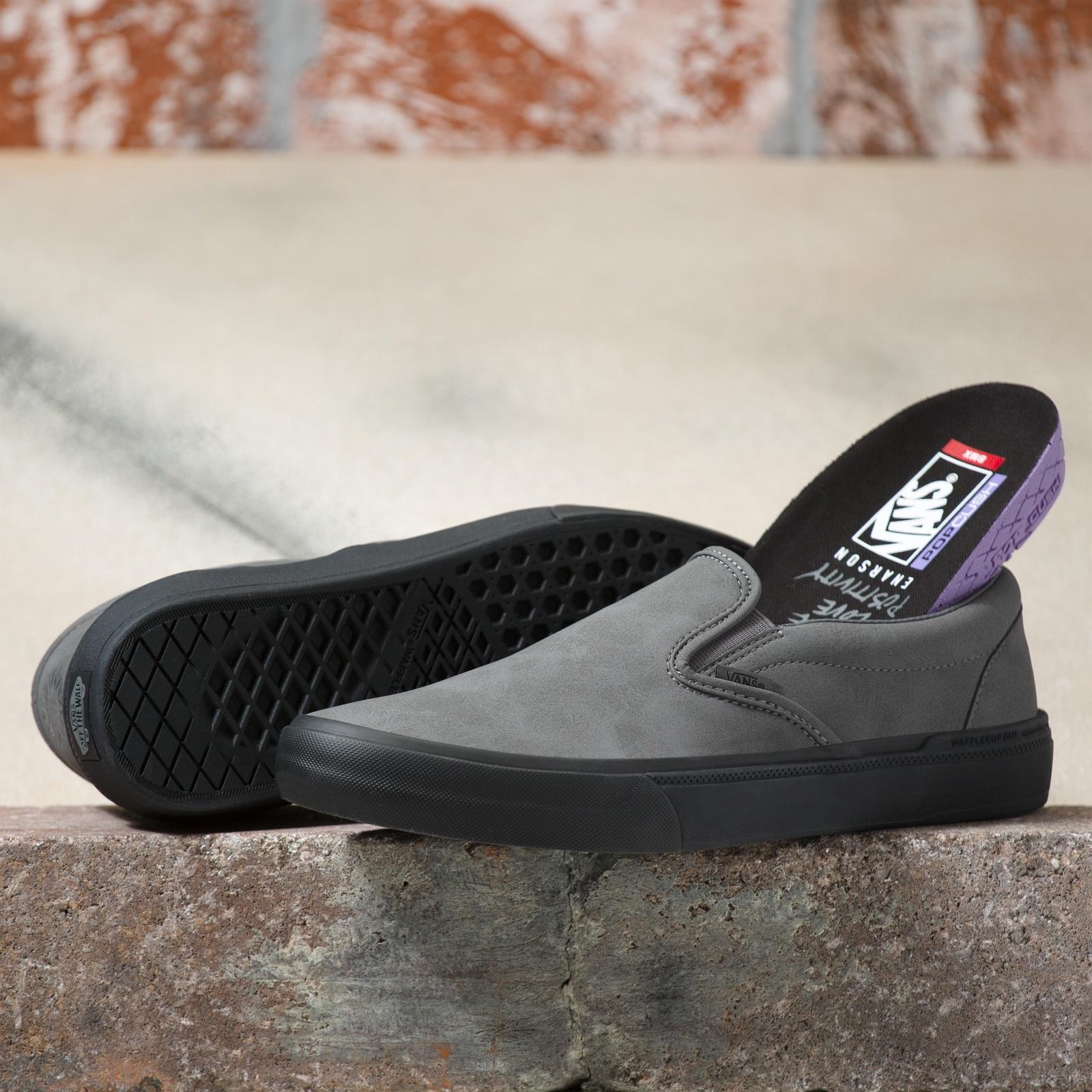 Vans BMX Slip On Shoe - (Dennis Enarson) Pewter/Black