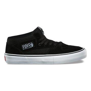 Vans Half Cab Pro Shoe - Black/Black/White